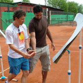 mili zimonjic Interview with Mili Veljkovic, tennis technique expert coach in Partizan Tennis Club. Part 1