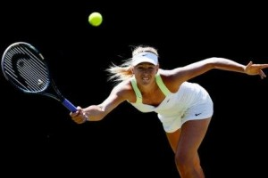 Maria Sharapova 300x200 Practice under pressure on the tennis court