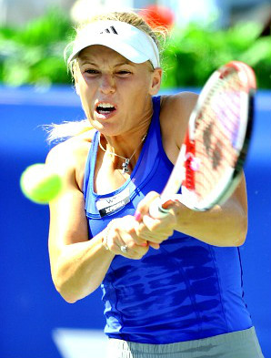 Caroline Wozniacki WTA Number One Ranking on the Line in Doha