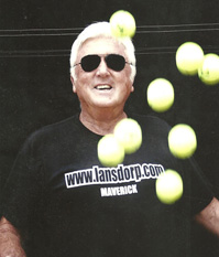 Robert Lansdorp What do you think about on tennis court coaching by WTA?